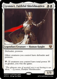 Lyonnet, Faithful Shieldmaiden