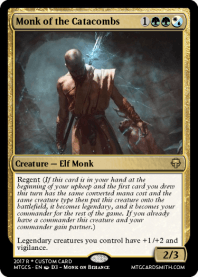 Monk of the Catacombs