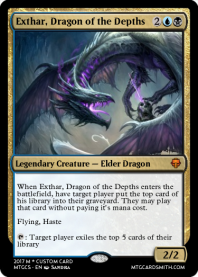 Exthar, Dragon of the Depths