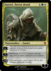 Daniel, forest druid