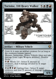 Tortoise, 338 Heavy Walker