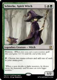 Schierke, Spirit Witch