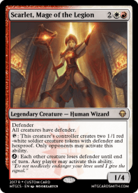 Scarlet, Mage of the Legion