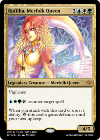 Rufillia, Merfolk Queen