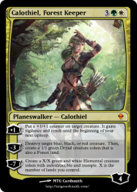 Calothiel, Forest Keeper