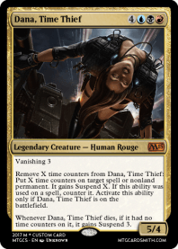 Dana, Time Thief