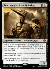 Tew, Knight of the Grieving