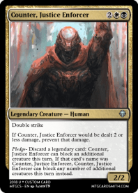 Counter, Justice Enforcer