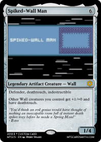 Spiked-Wall Man