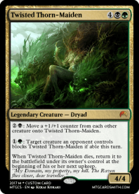Twisted Thorn-Maiden