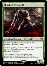 Bloodied Werewolf
