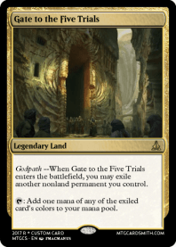 Gate to the Five Trials