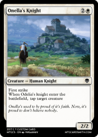 Onella's Knight