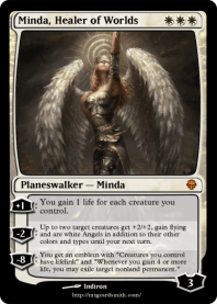Minda, Healer of Worlds