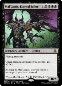Mal'Ganis, Eternal Jailor