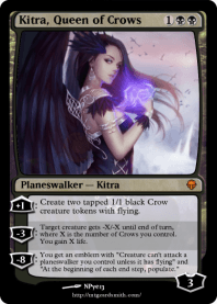 Kitra, Queen of Crows