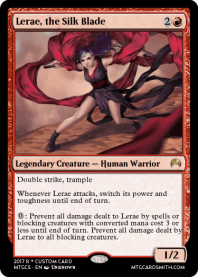 Lerae, the Silk Blade