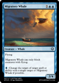 Migratory Whale