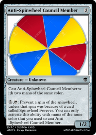 Anti-Spinwheel Council Member