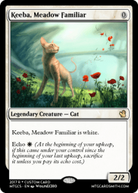 Keeba, Meadow Familiar