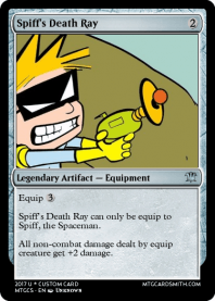 Spiff's Death Ray
