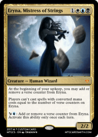 Eryna, Mistress of Strings