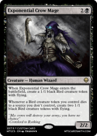 Exponential Crow Mage