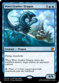Wave Crasher Dragon