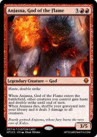 Anjasna, God of the Flame
