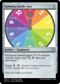 Spinning Battle-Axe