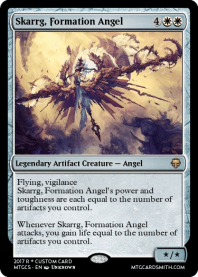 Skarrg, Formation Angel