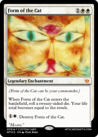 Form of the Cat