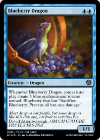 Blueberry Dragon
