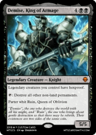 Demise, King of Armage