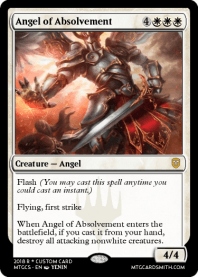 Angel of Absolvement