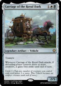 Carriage of the Royal Dark