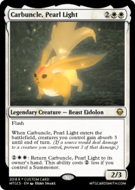 Carbuncle, Pearl Light