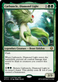 Carbuncle, Diamond Light