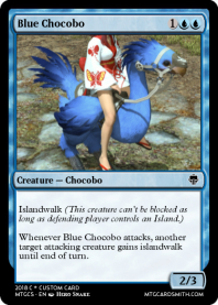Blue Chocobo
