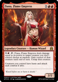 Fiana, Flame Empress