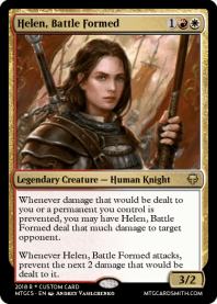 Helen, Battle Formed