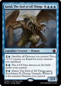 Katul, The End of All Things