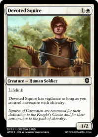 Devoted Squire