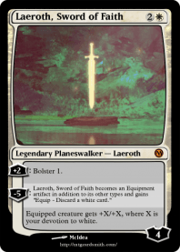 Laeroth, Sword of Faith