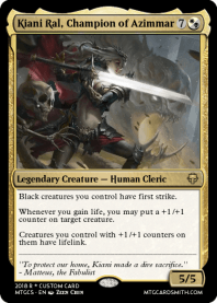 Kiani Ral, Champion of Azimmar