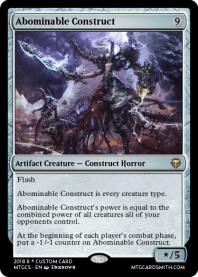 Abominable Construct