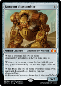 Rampant disassembler