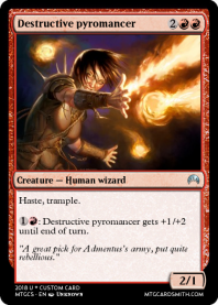 Destructive pyromancer