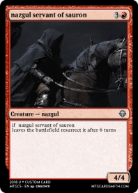 nazgul servant of sauron