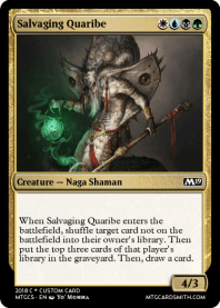 Salvaging Quaribe